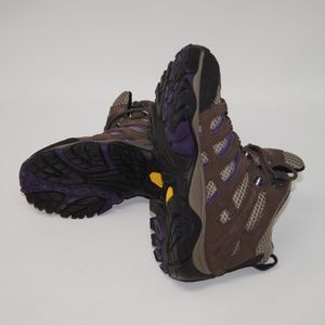 Merrell Shoes - Merrell Hiking Boots sz 5 Brown Purple